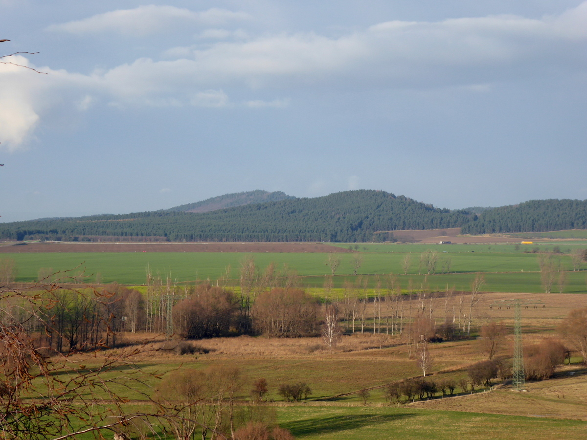 Blick zum Hoppelberg