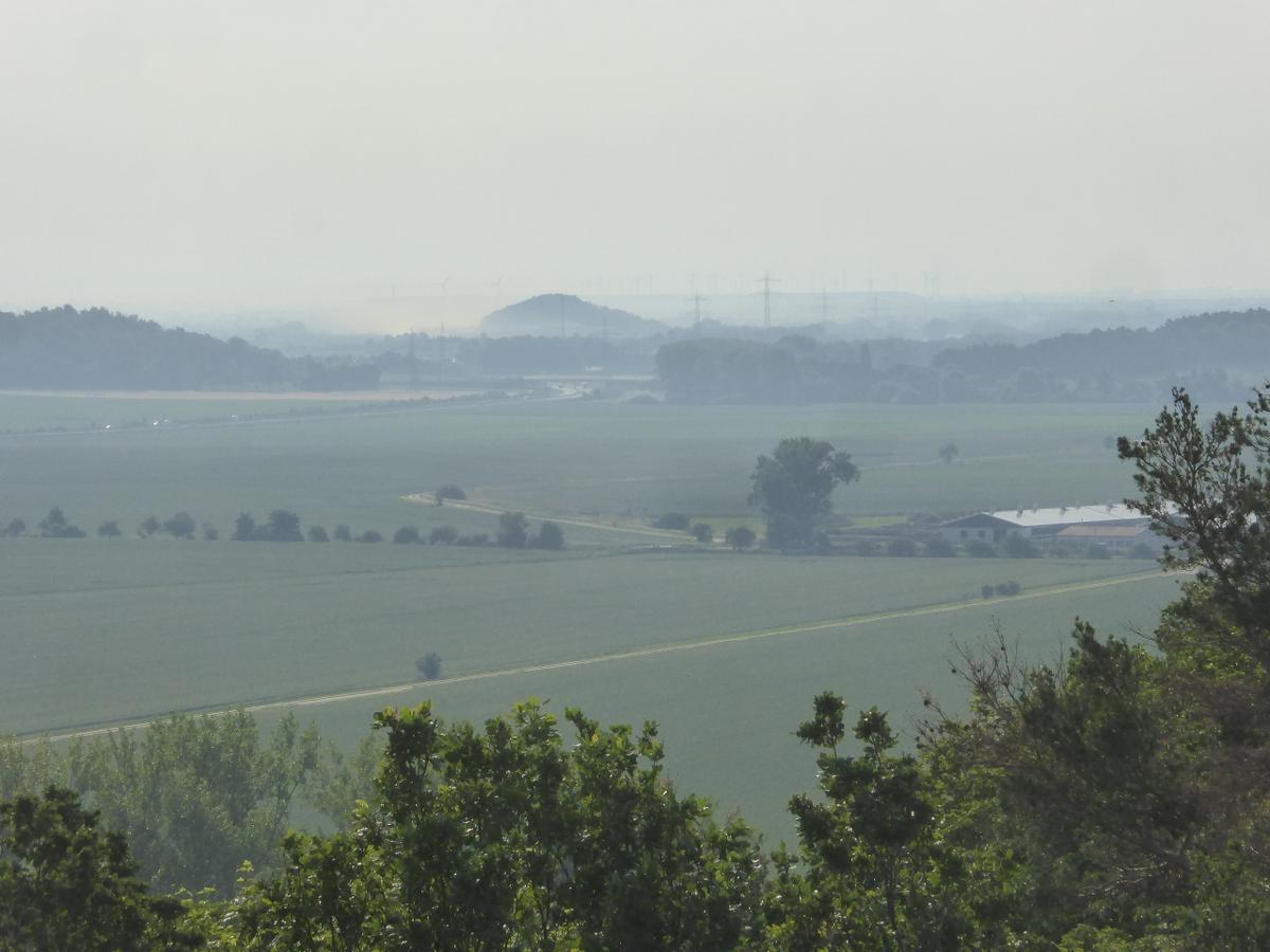Sicht zur Lehof im Osten