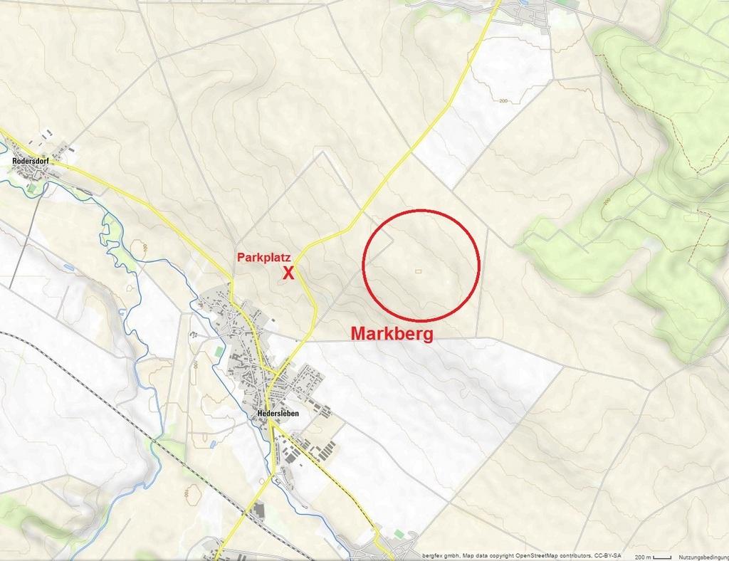 Die Lage auf der Karte
