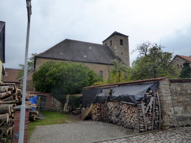 """Die Andreaskirch des Klosters direkt neben dem """"Born"""""""