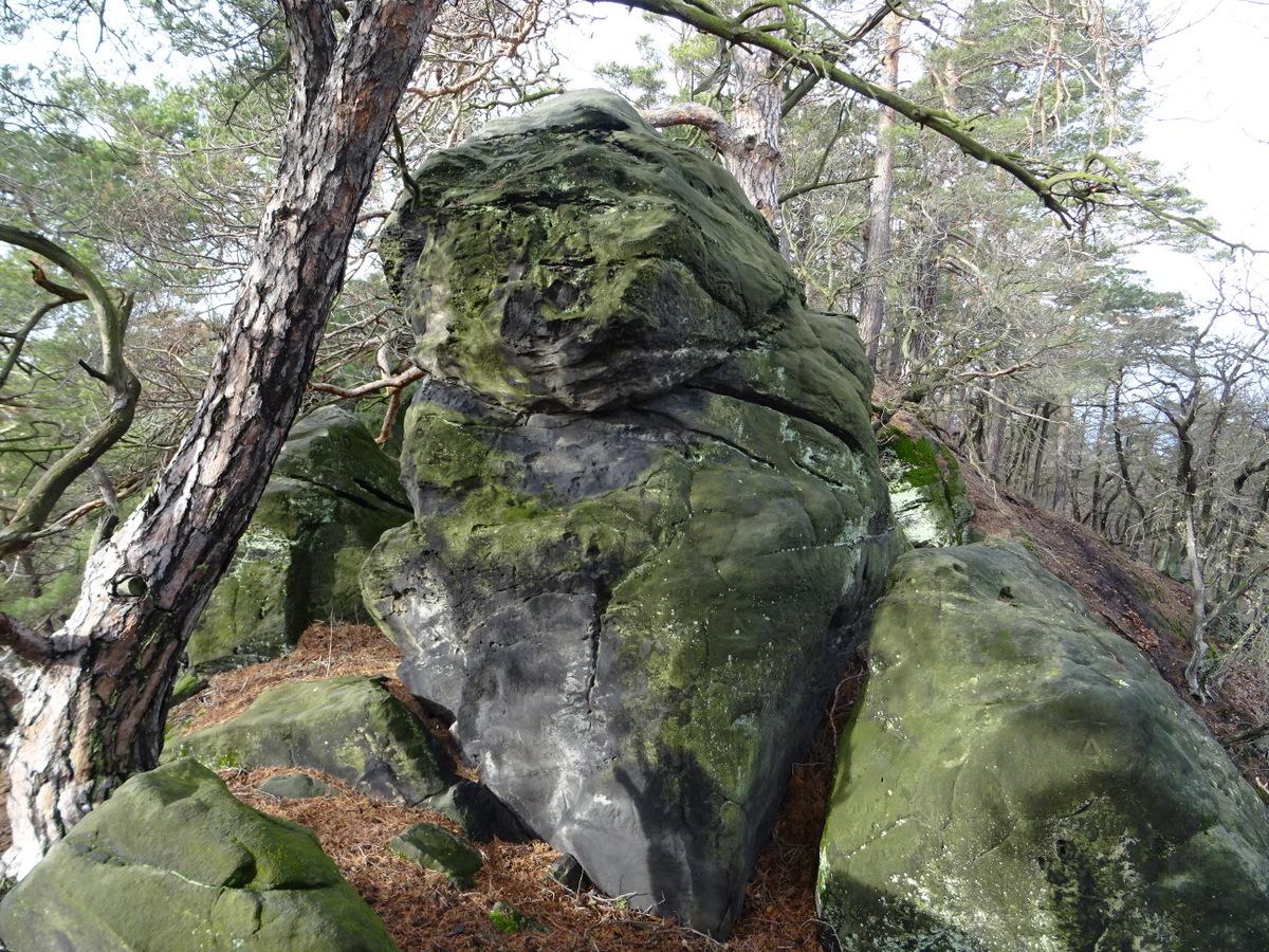 Um diesen Felsen hätte ich klettern müssen