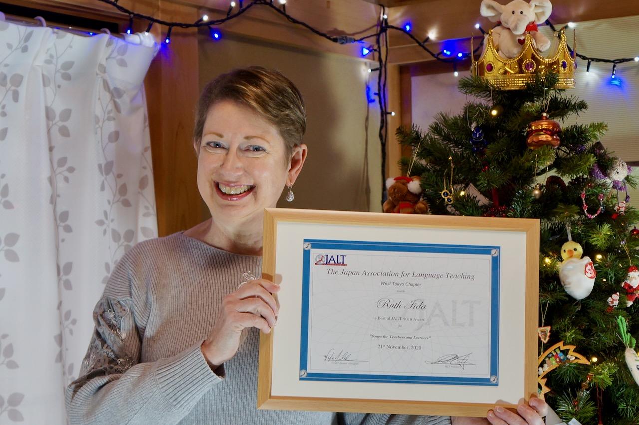 Ruthie won an award!