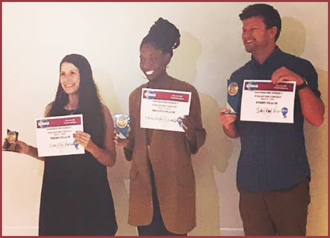 Winners Evaluation Contest Eng. 1st Sven Van Vliet TM  Lyon English   2nd Claude-Eugenie Iwandza TM  Lyon Unlimited 3rd Christel Vincent TM Marseille.