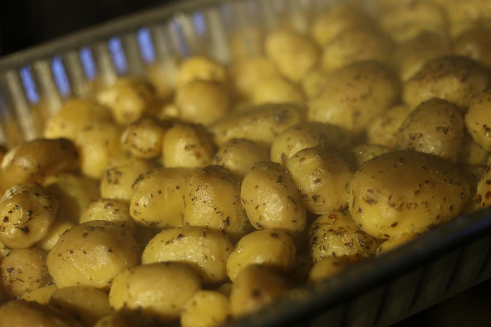Kartoffeln vom Smoker