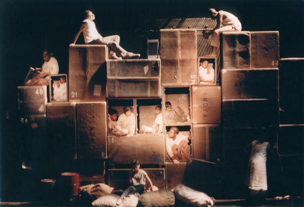 """""""Nandy"""", mise en scène de Christiane Véricel - Cie Image Aiguë"""
