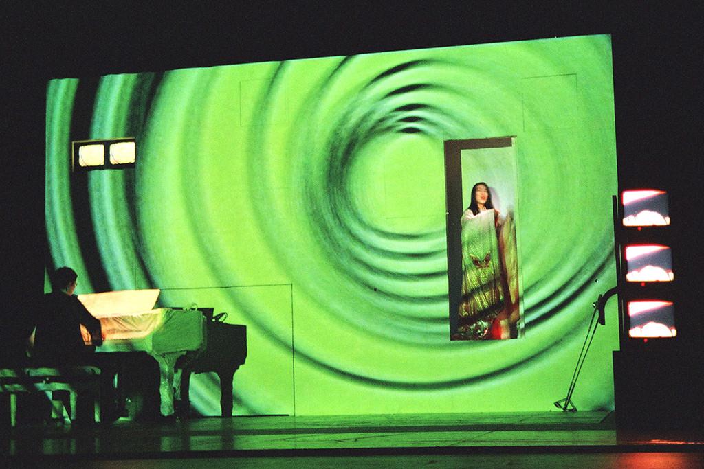 """""""Musique de Toile"""", mise en scène Hervé Tougeron - Ensemble Skêne"""