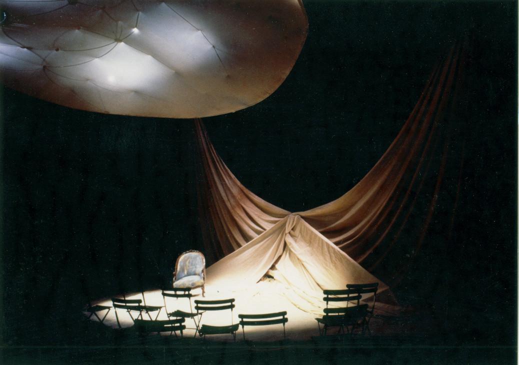 """""""Baleine"""" de Paul Gadenne, mise en scène Pierre Ascaride - Théâtre 71"""