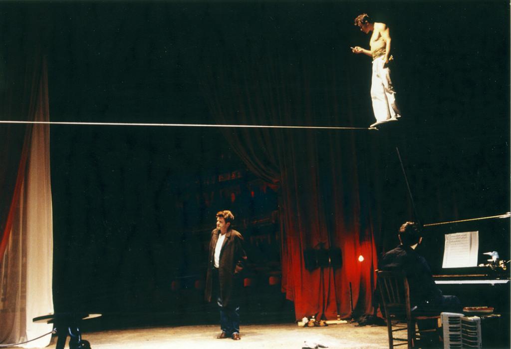 """""""Le Funambule"""" de Jean Genêt, mise en scène Jean Beaucé - Cie Digor Dor"""