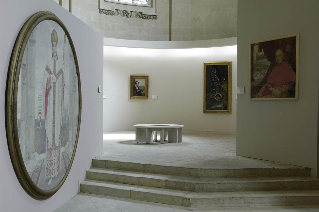 """Exposition """"Edgard Maxence et Les Fleurs du Symbolisme""""- crédit Ville de Nantes Cécile Clos"""