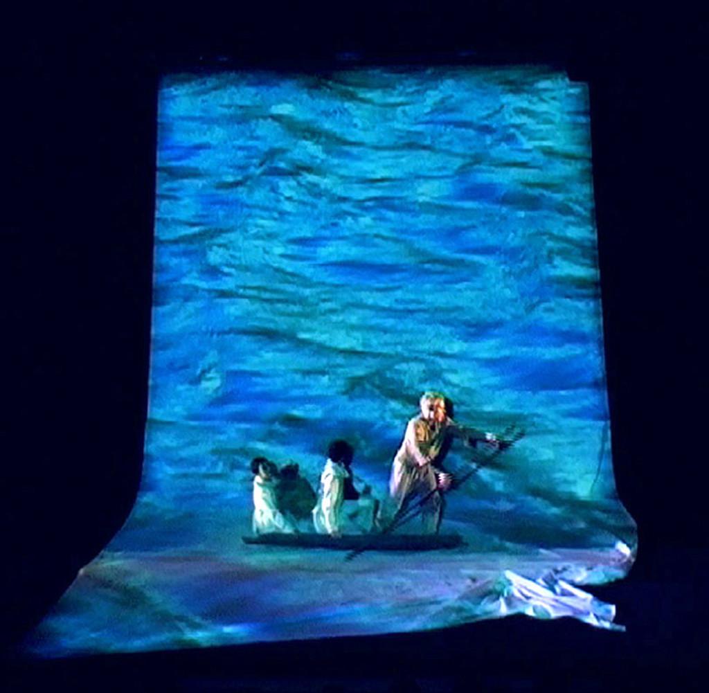 """""""La Légende de St Julien"""" de Gustave Flaubert, mise en scène Olivier Poujol - Cie Elan Bleu"""