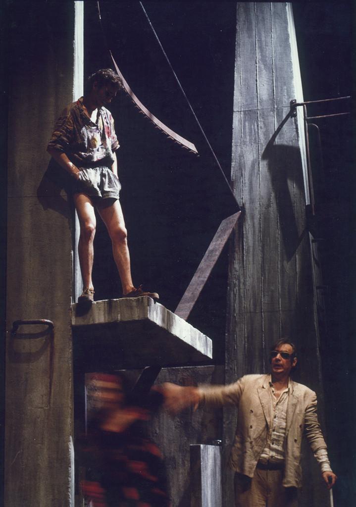 """""""Papa"""" de Serge Valetti, mise en scène Pierre Ascaride - Théâtre 71"""