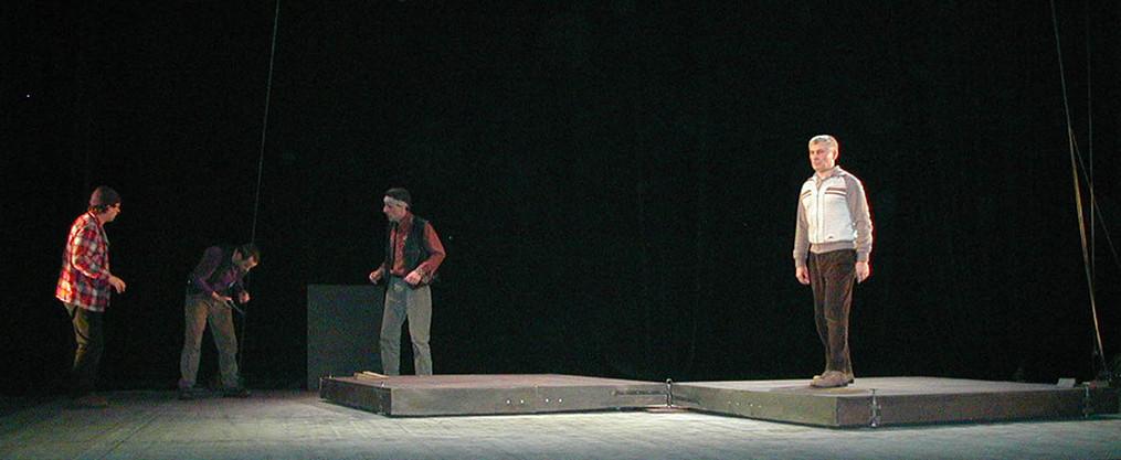 """""""La Conquête du Pôle Sud"""" de Manfred Karge, mise en scène Hughes Vaulerin - Cie Ergatica"""