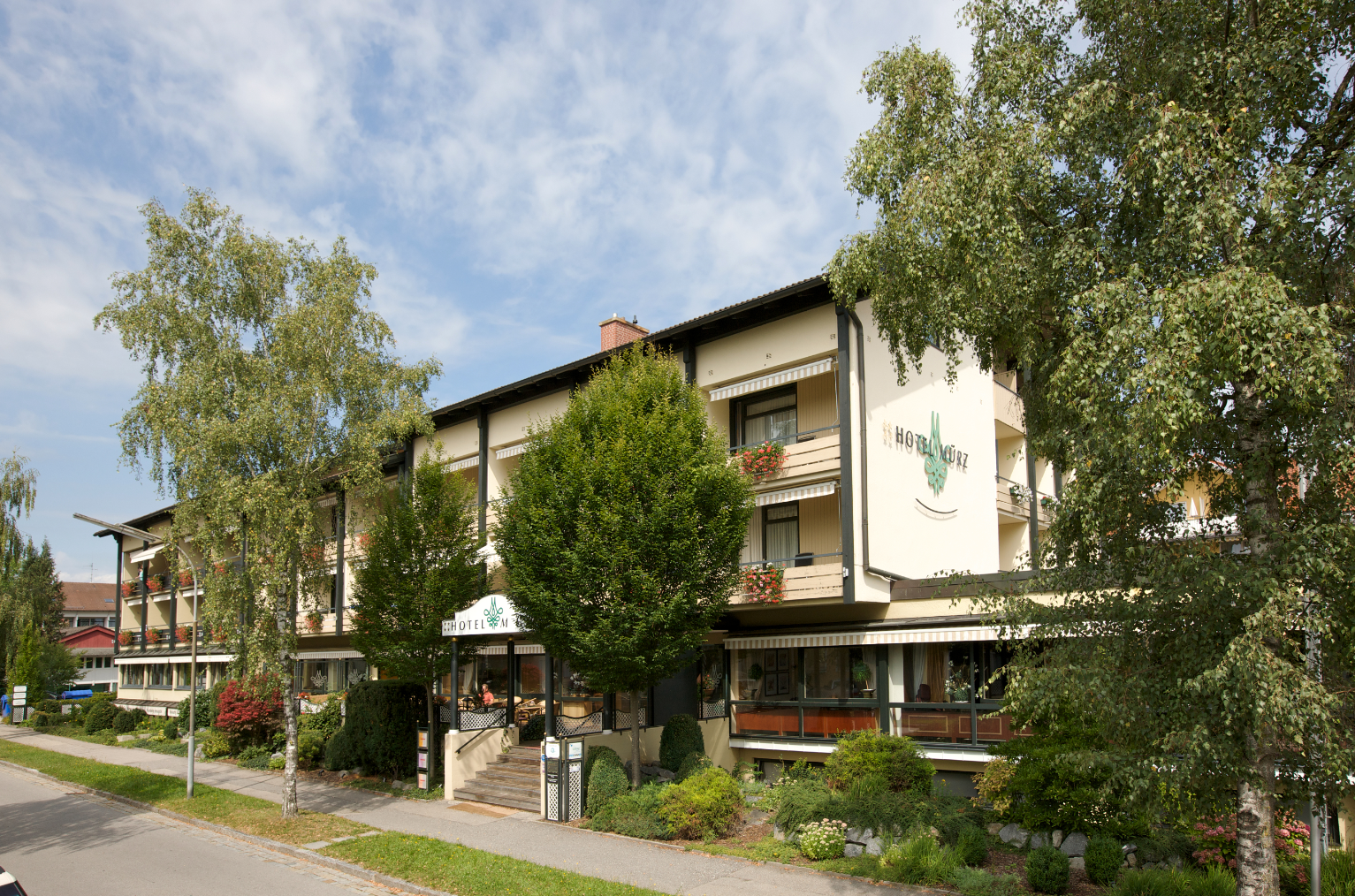 Das Hotel Mürz in Bad Füssing
