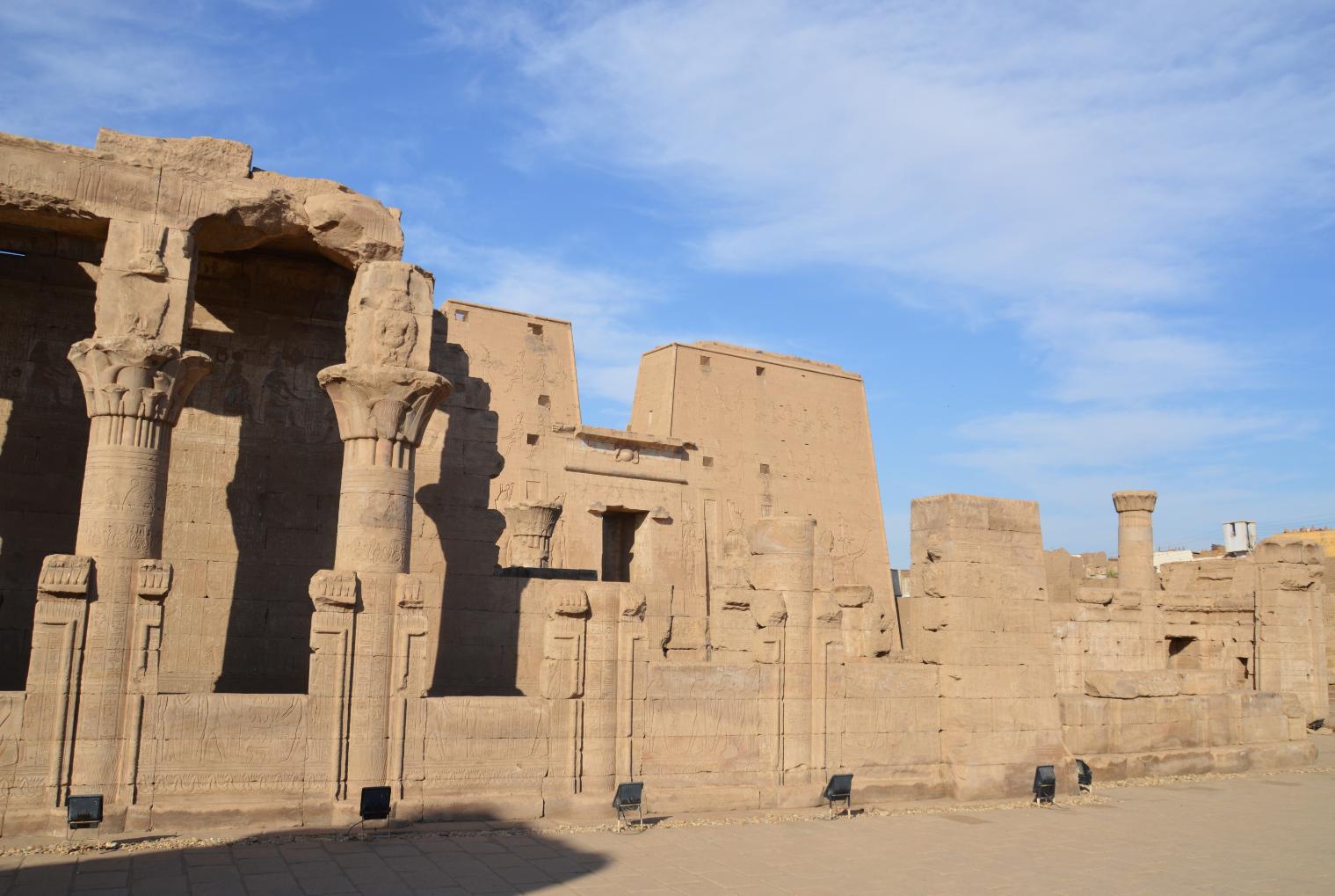 Eine riesige Tempelanlage....