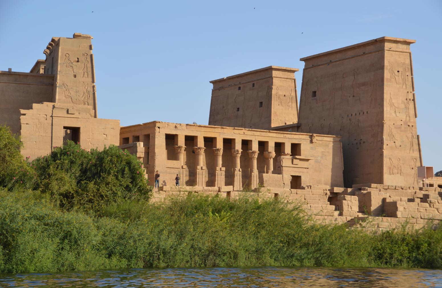 Dieser 3000 Jahre alte Tempel wurde 1979 im Auftrag der Unesco umgesiedelt...