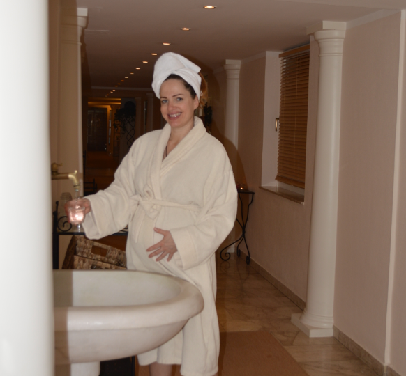 Besonders toll: Überall im Hotel gibt es Trinkbrunnen mit gesundem Wasser