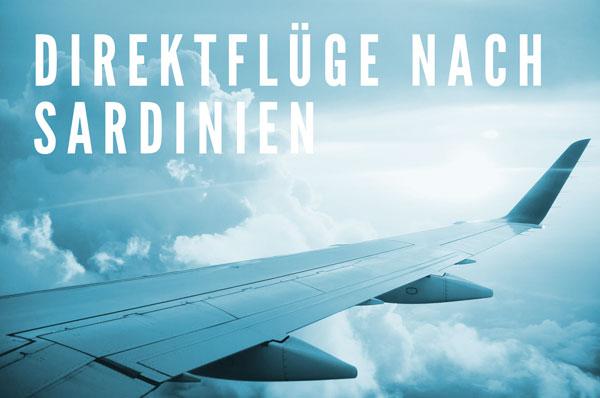 Flüge nach sardinien