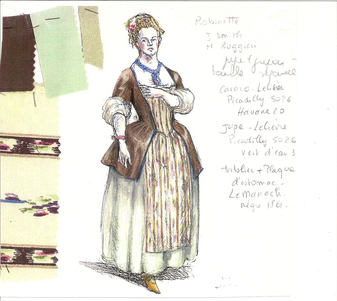 Costume (Patrice Cauchetier) La Vieille (La Fée Urgèle)