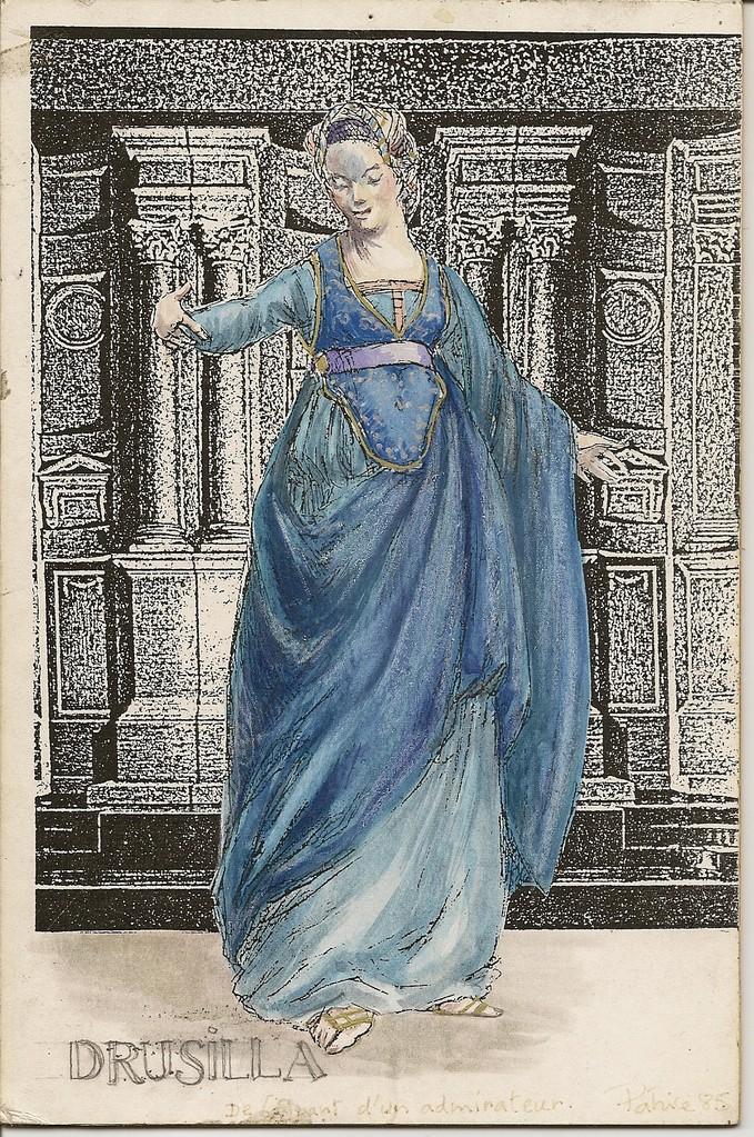 Costume (Patrice Cauchetier) Drusilla (L'Incoronazione di Poppea) Nancy/Metz