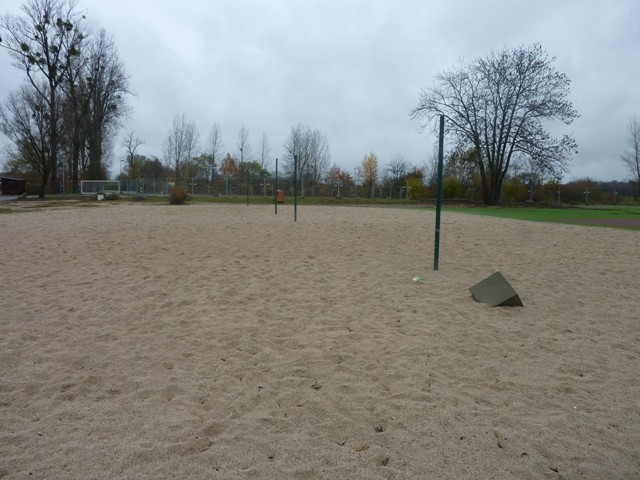 oder Beach Volleyball ....