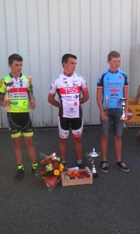 Anthony, champion départemental 2016 catégorie Minimes