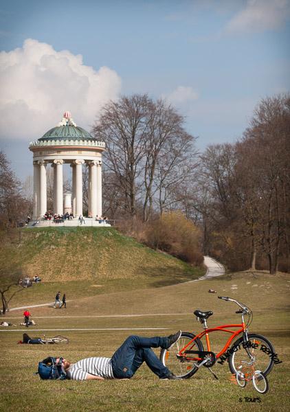 Monopterous - Munich's Englischer Garten