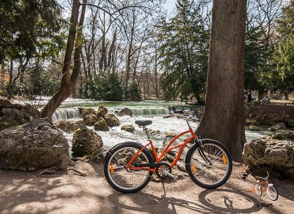 Eisbach - a Stream in the Englischer Garten
