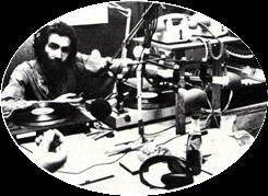 Servin à Radio Libertaire