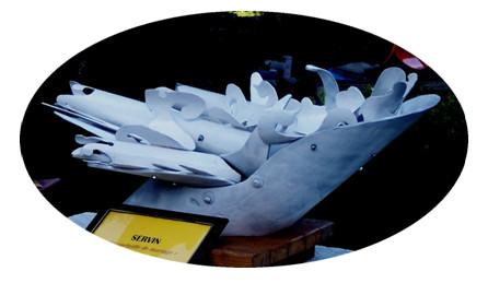 sculpture de Servin