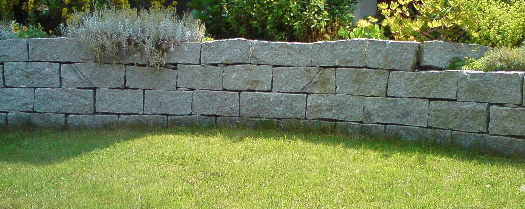 Trockenmauern aus Granit