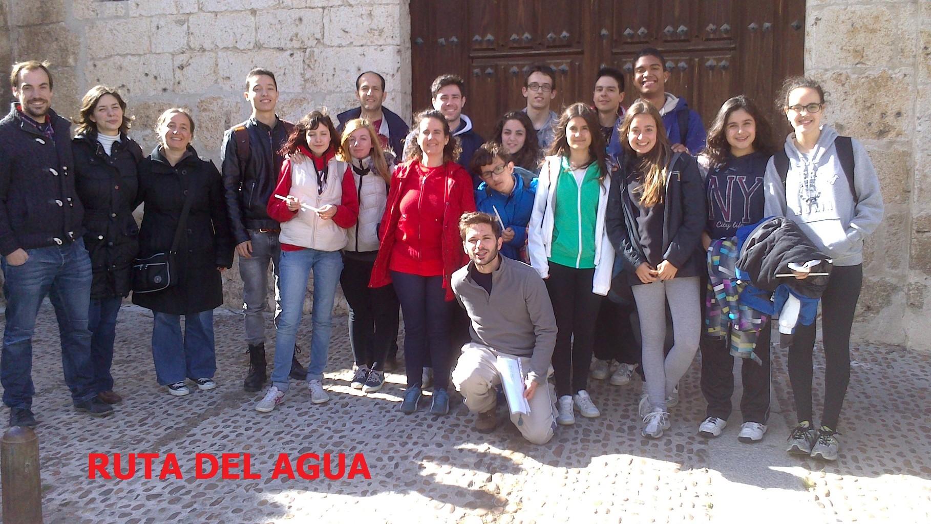 Ruta del Agua: salida de los jóvenes de la parroquia a San Miguel del Pino y Tordesillas