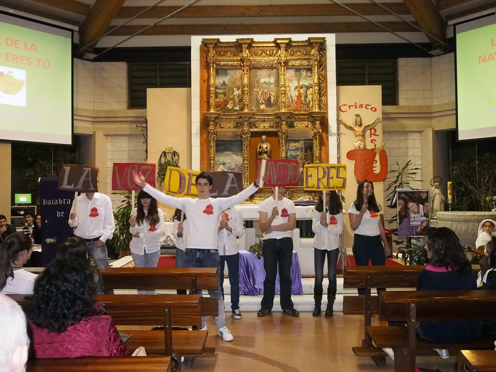 """Concierto de Navidad de la parroquia: """"La voz de la Navidad eres Tú"""" con la participación de toda la Comunidad"""