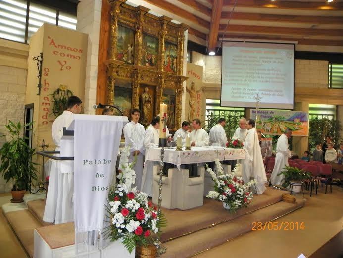 25 Aniversario de la Ordenación de José Manuel, nuestro párroco                              28 de Mayo de 2014