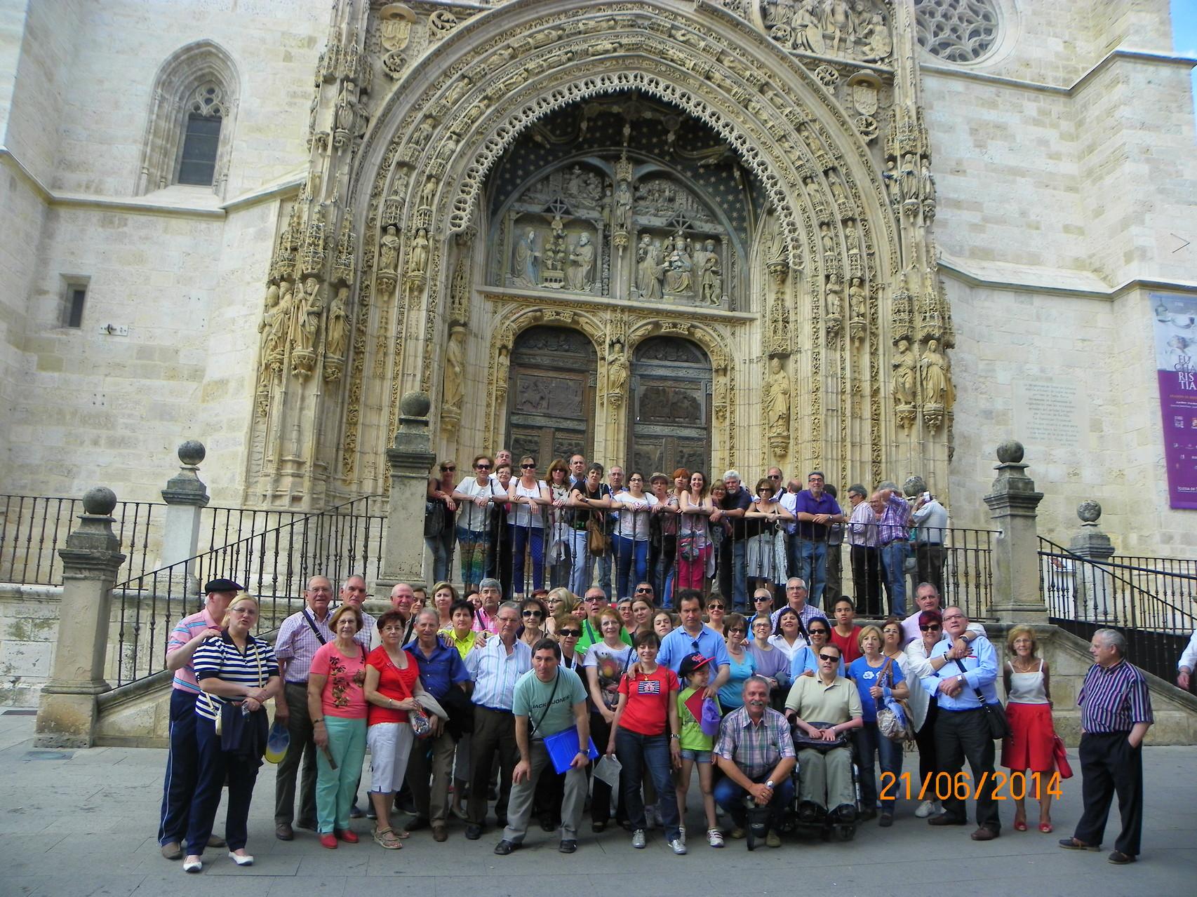 Encuentro-Convivencia de toda la Comunidad en las Edades del Hombre de Aranda de Duero (Burgos)   21 de Junio de 2014