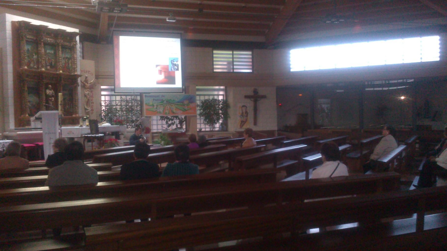 Charla-proyección de Santa Teresa