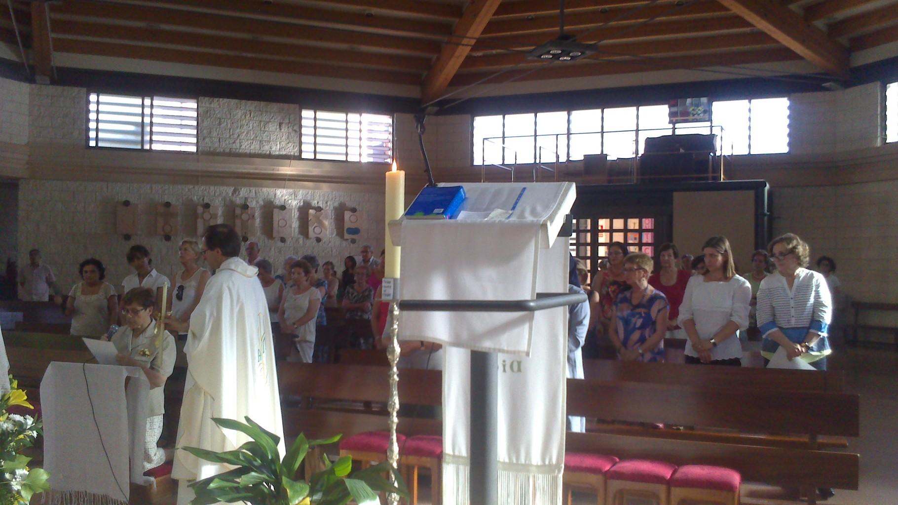 50 aniversario como religiosa de Ana María - 6 de Julio de 2015
