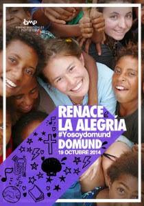 Cartel y lema del DOMUND 2014