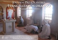 Cartel de la Jornada Pro Orantibus