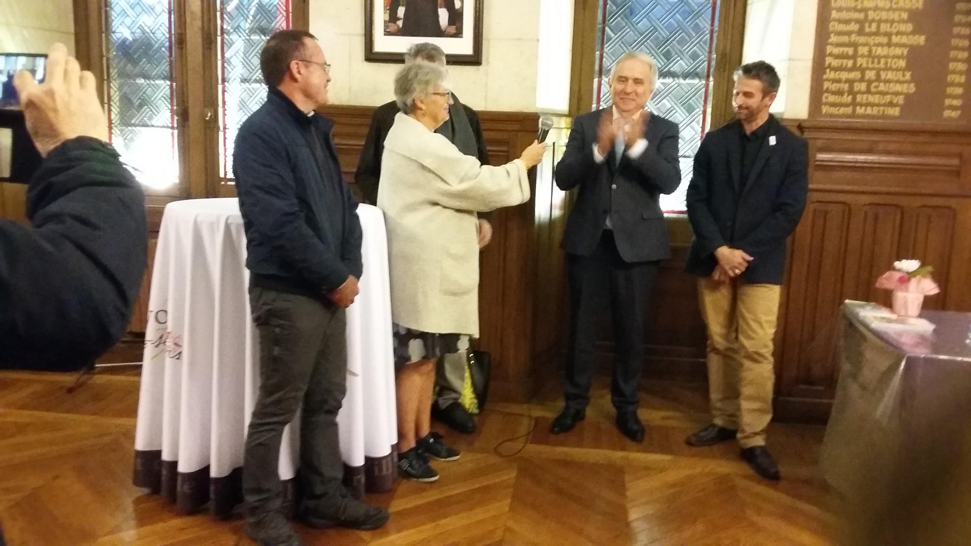 Réception à la mairie de Noyon