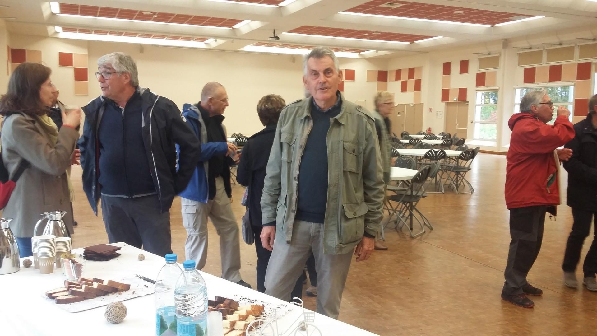 Le président du club de Noyon Henri De Grande CDRP60 très impliqué à l'organisation