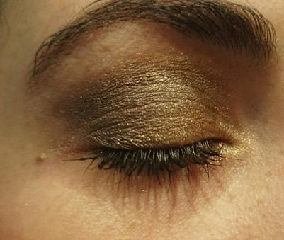 Exemple de maquillage soirée