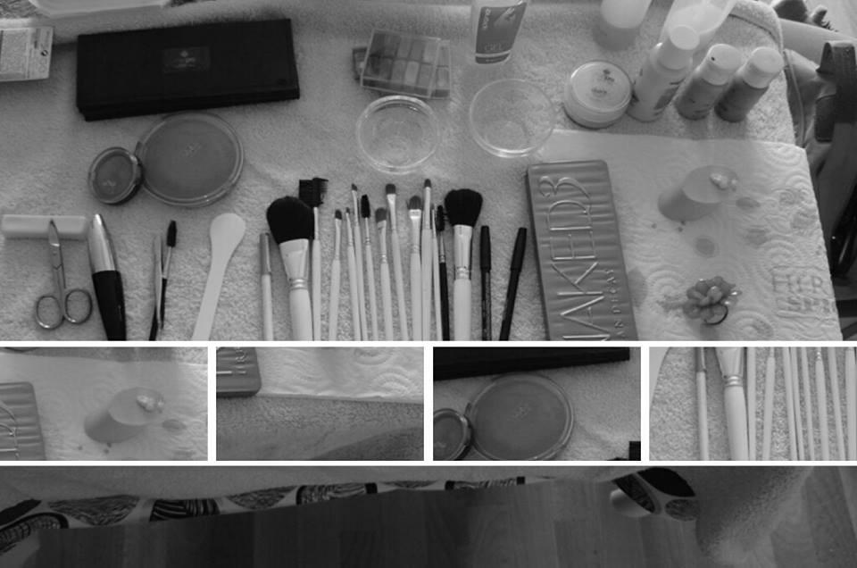 Aperçu du matériel maquillage