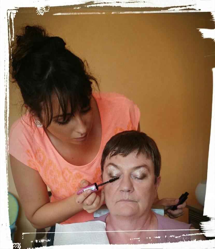 Travail du maquillage jour pour mariage