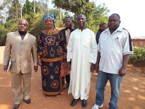 Das örtliche Komitee zur Entwicklung der Bildung © Waltraut Biester
