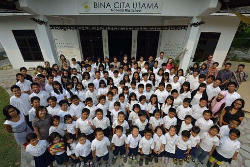 SchülerInnen und Lehrer von BCU © BCU