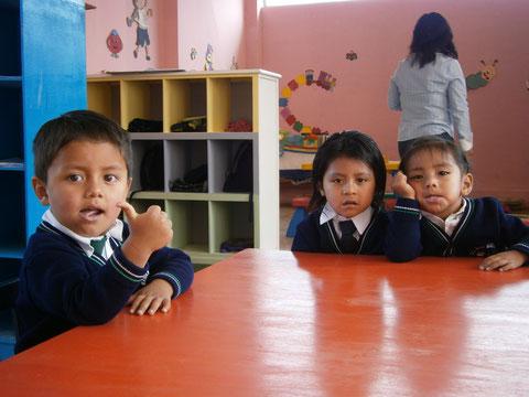 Ein klares Zeichen für die Bildungseinrichtung in Otavalo © Danny Großheide