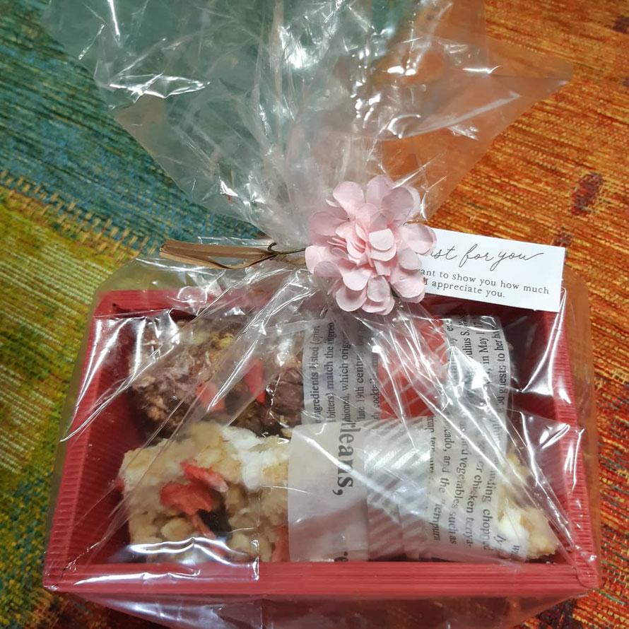 ベビーマッサージ教室に参加したママが愛情こめて手作りしたチョコレート