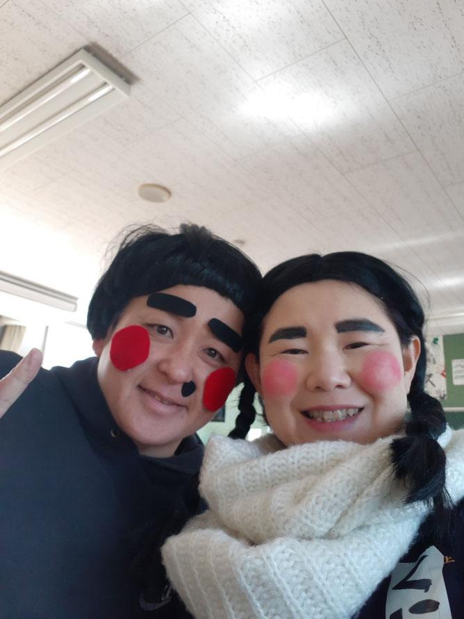 大分県豊後高田市田染中全校生徒16名への命を伝える応援団の授業。中学3年生カップルの劇。