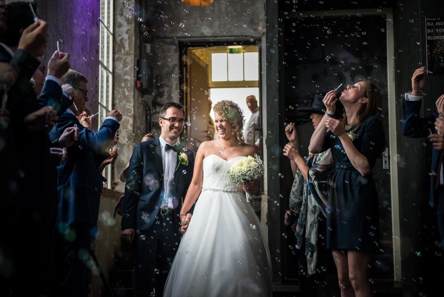 Bruidsfotograaf in Brabant in de Leerfabriek in Oisterwijk
