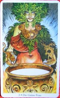Kartenquelle: Wild Wood Tarot von Mark Ryan und John Matthews